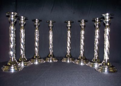 Silver Candle Sticks $3 ea