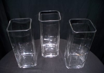 Medium Square Vases $3.00