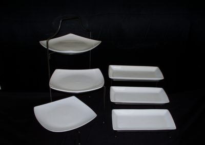 Tiered Serving Platters Comes with Iron Stands $10