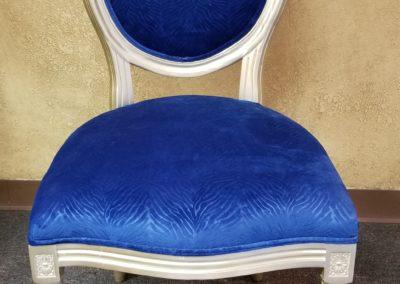 Classic Louis Blue Velvet $25.00 each