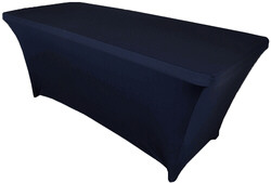 8ft Spandex Table Cover $20