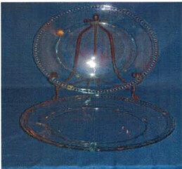 Clear Glass Platters $3.00