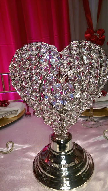 Diamond Heart Votive Candle Holder $8.00