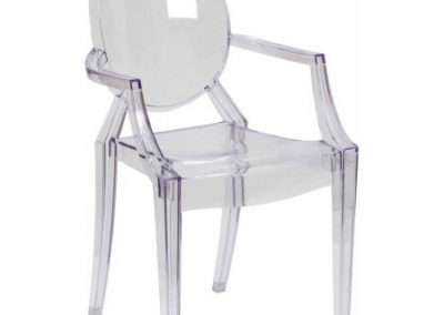 Ghost Chairs Set of 2  $45.00