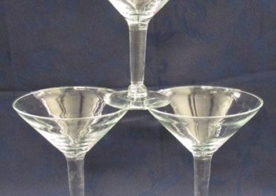 Medium Martini Glass Vases $5.00