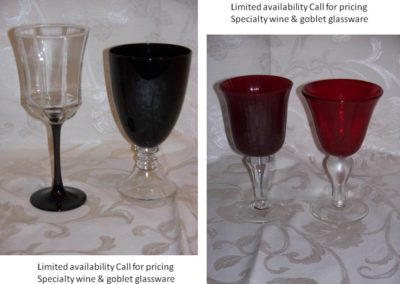 Specialty Glassware