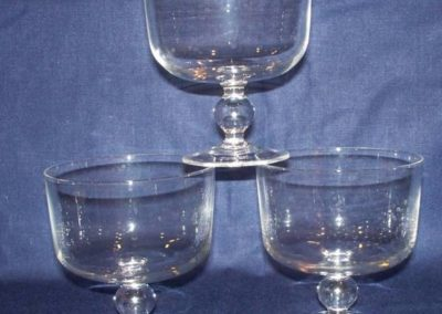 Glass Dessert Bowls $0.50 ea.