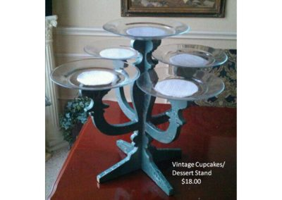 Vintage Cupcake Stand $18