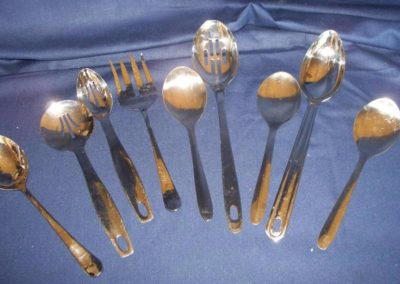 Serving Utensils $0.40 ea.