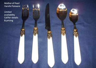 Mother of Pearl flatware