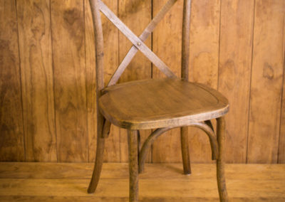 Wodden Cross Back Chair.JPG