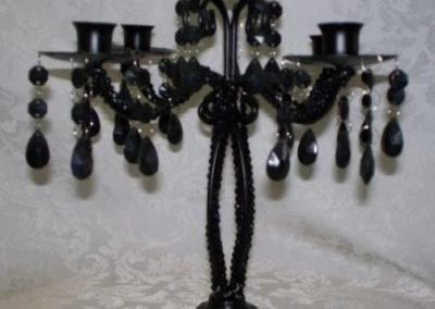 Black Table Candelabra $20