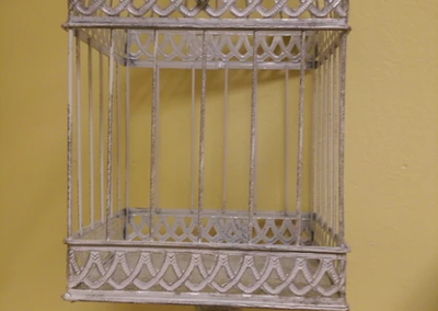 Large Vintage Birdcage $25
