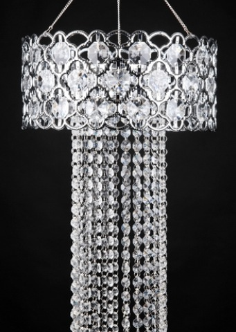 Diamond Hanging Chandelier Light Kit Available $25